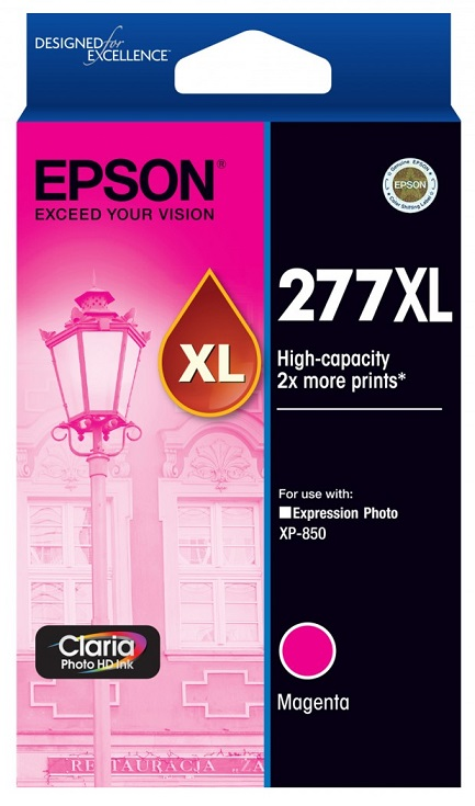 Epson Claria Photo HD 277XL Magenta Ink Cartridge