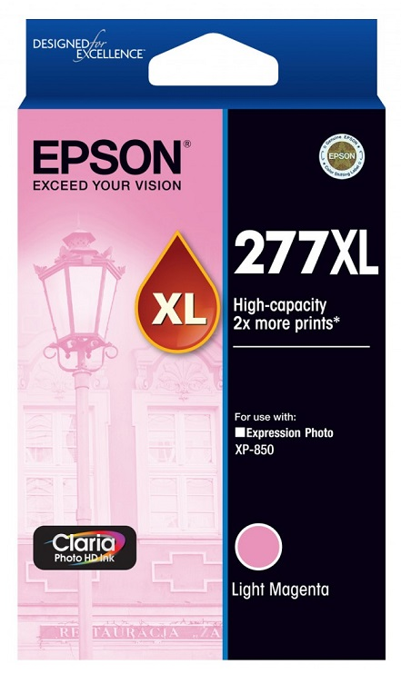 Epson Claria Photo HD 277XL Light Magenta Ink Cartridge