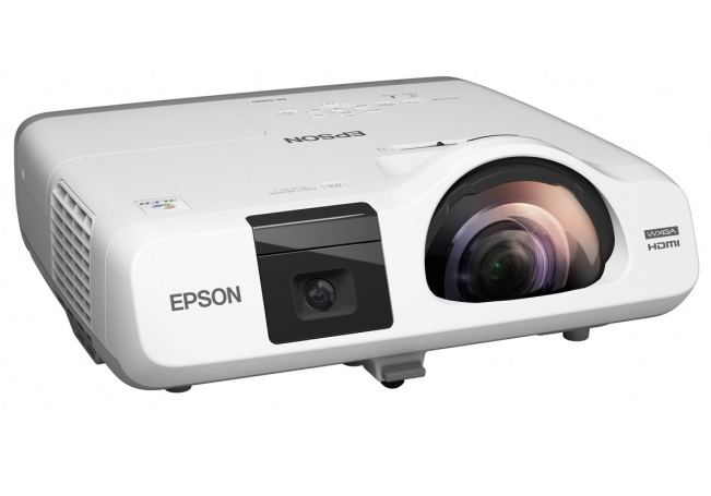 Epson EB-535W 3400 Lumen WXGA LCD Network-Capable Projector + FREE Speaker System!
