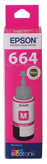 Epson EcoTank T664 Magenta Ink Bottle