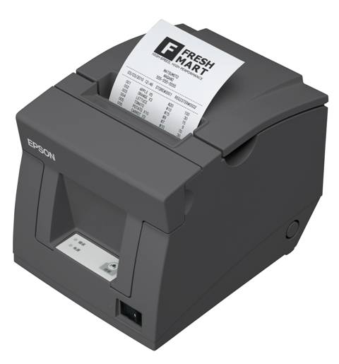 Epson TM-T81 Serial Thermal Direct Receipt Printer - Black (Dark Grey)