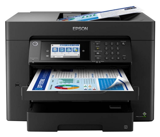 Epson WorkForce WF-7845 A3 25ppm Colour Wireless Inkjet Multifunction Printer + Claim up to $110 Cash Back
