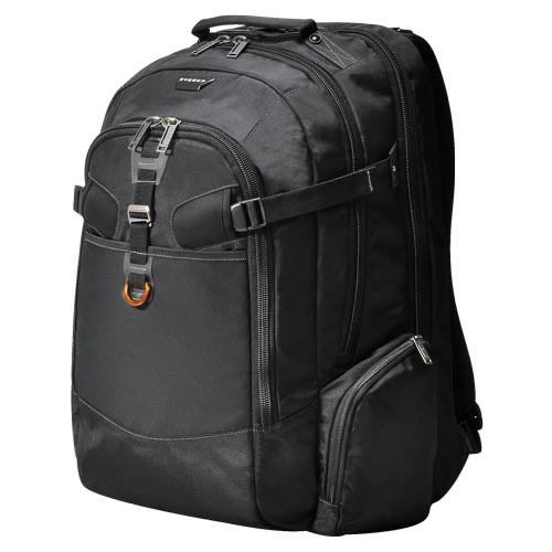Everki Titan Laptop Backpack 18.4 Inch with Accessory Insert - Black