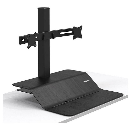 Fellowes Lotus VE Dual Monitor Sit Stand Workstation
