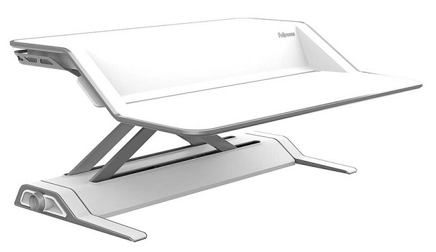 Fellowes Lotus Sit Stand Workstation - White