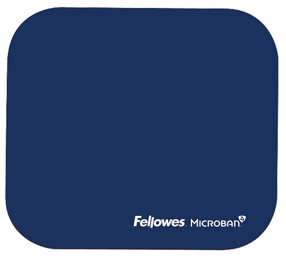 Fellowes Mouse Pad with Microban - Navy