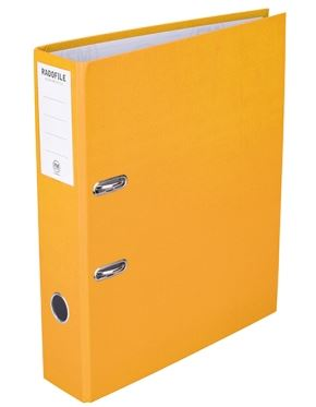File Master A4 Radofile Lever Arch File Yellow