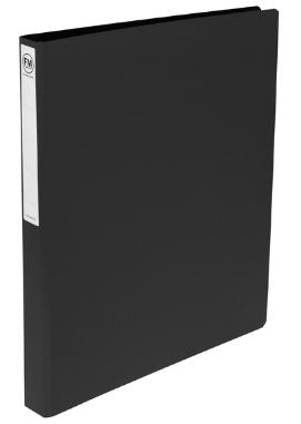 File Master A3 Trunkboard 3/26 Ring Binder Black