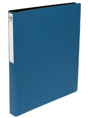 File Master A3 Trunkboard 2/26 Ring Binder Blue