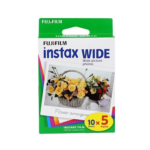 Fujifilm Instax Wide Film - 50 Pack