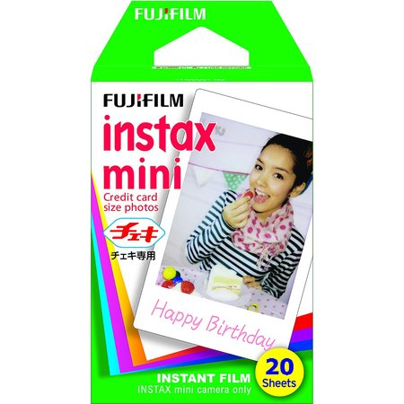 Fujifilm Instax Mini Film - 20 Pack