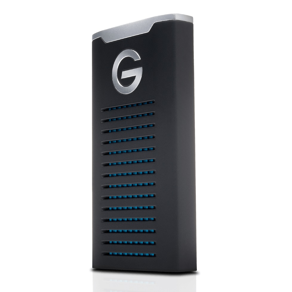 G-Technology G-DRIVE 2TB USB-C Rugged External Solid State Drive
