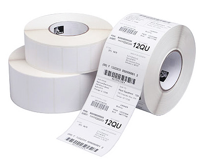 Generic Thermal Direct 76mm x 48mm Permanent Single Label Roll - 500 Labels