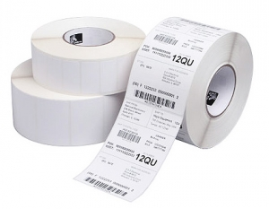 Generic Thermal Transfer 25 x 12mm Permanent Single Label Roll - 2000 Labels