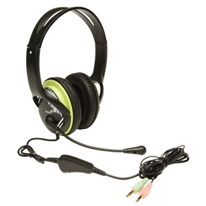Genius HS-M400A Headphone - Green