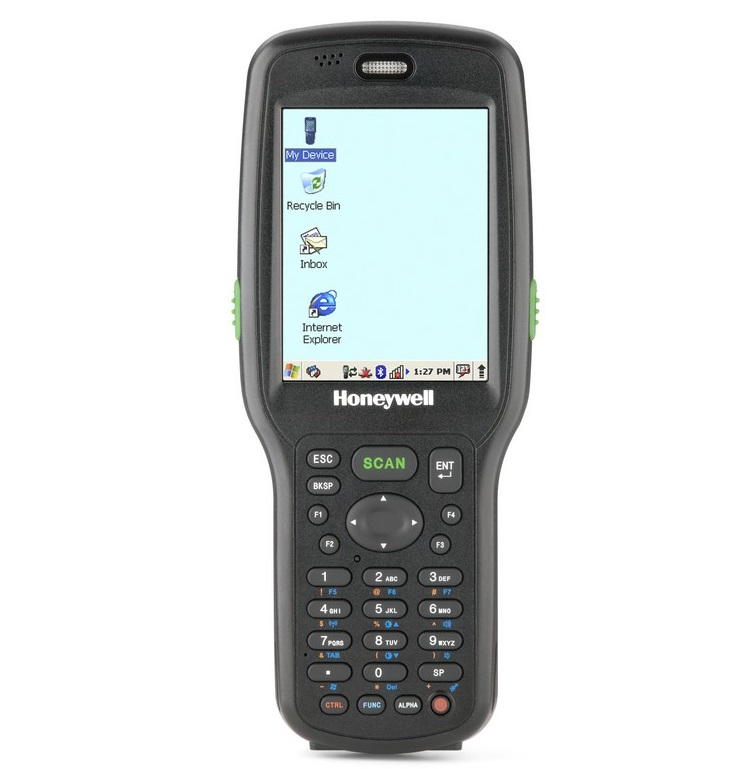 Honeywell Dolphin 6500 2D 5300SR Bluetooth WiFi (Extended Battery) PDT With Windows Embedded Handheld 6.5