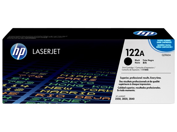 HP 122A Black Toner Cartridge