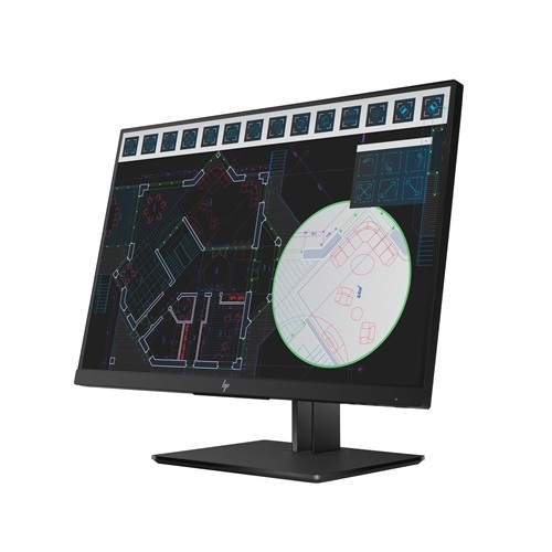 HP Z24i G2 24 Inch 1920 x 1200 Narrow Bezel IPS Monitor with USB Hub - VGA HDMI DisplayPort
