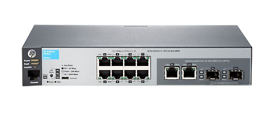 HP 2530-8 8 Port Manageable Ethernet IPv6 Layer 2 10/100 RJ45 Switch