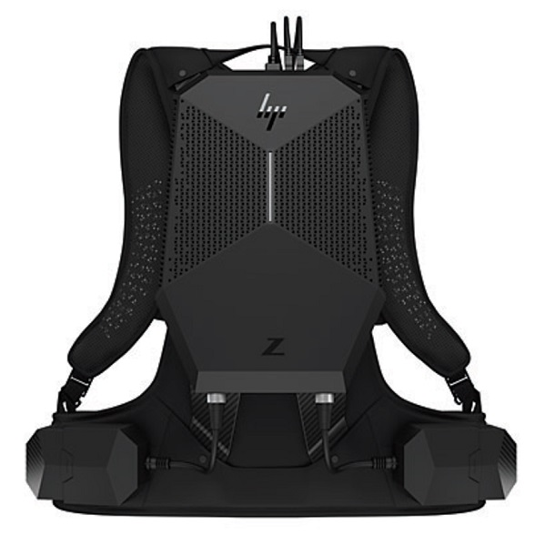 HP Z VR Backpack G1 i7-7820HQ 3.9GHz 16GB RAM 1TB SSD P5200 Virtual Reality Compact Computer with Windows 10 Pro