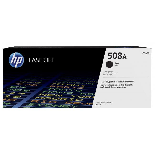 HP 508A Black Laser Toner Cartridge