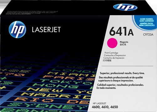 HP 641A Magenta Toner Cartridge