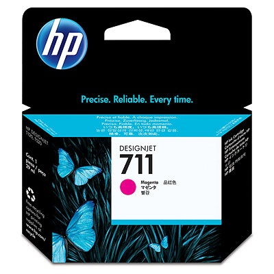 HP 711 Magenta 29ml Ink Tank Cartridge