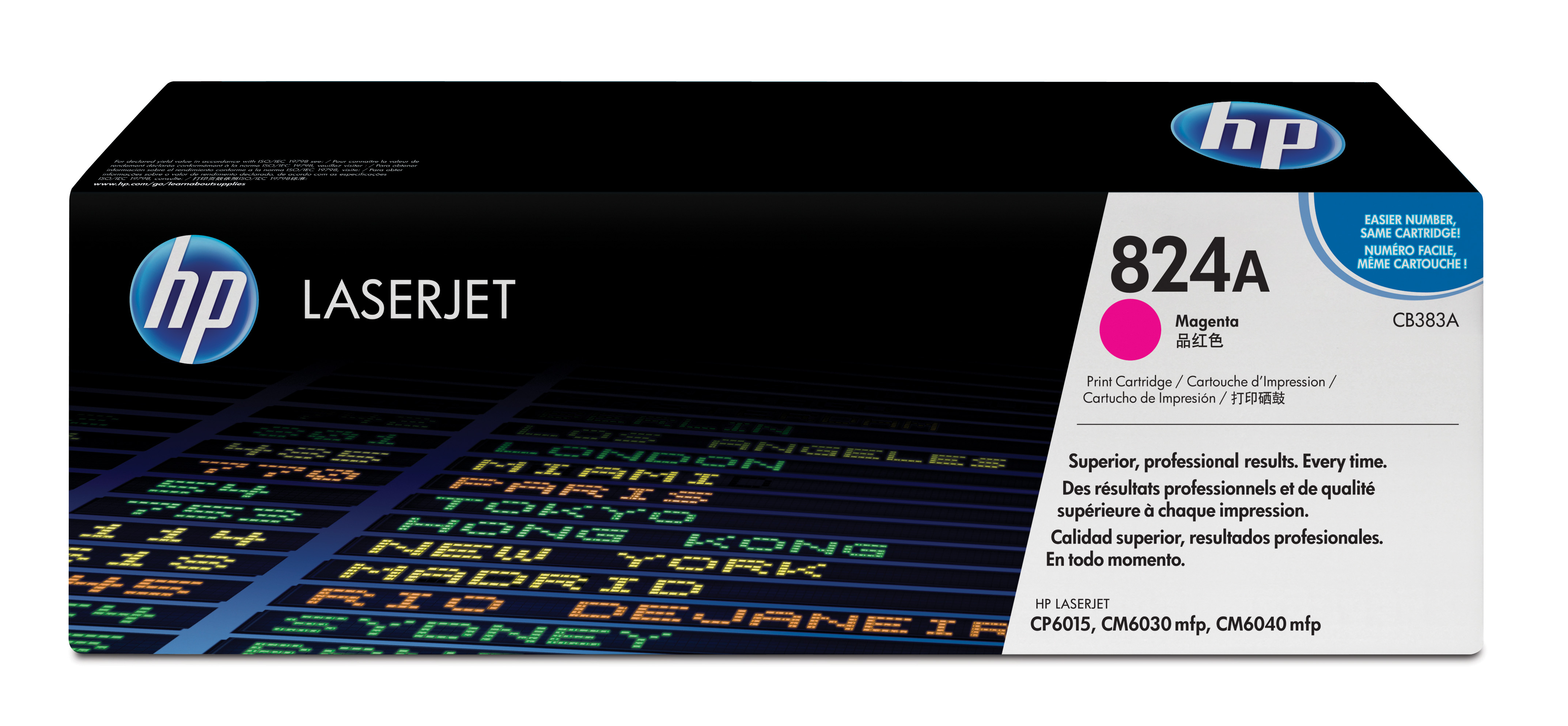 HP 824A Magenta Toner Cartridge