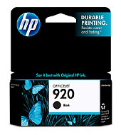 HP 920 Black CD971AA Ink Cartridge