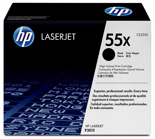 HP 55X Black High Yield Toner Cartridge
