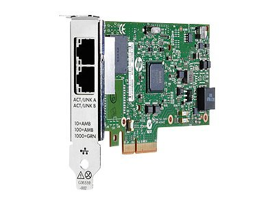 HP Gigabit Ethernet Card PCI Express 2 x Network RJ-45