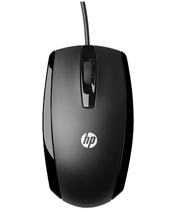 HP X500 Wired USB Optical Scroll Wheel Mouse