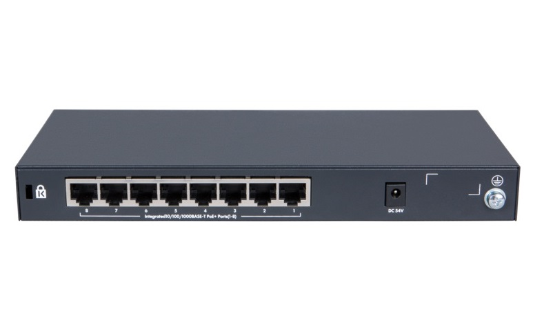 HPE OfficeConnect 1420-8G 8 Port Gigabit PoE+Switch