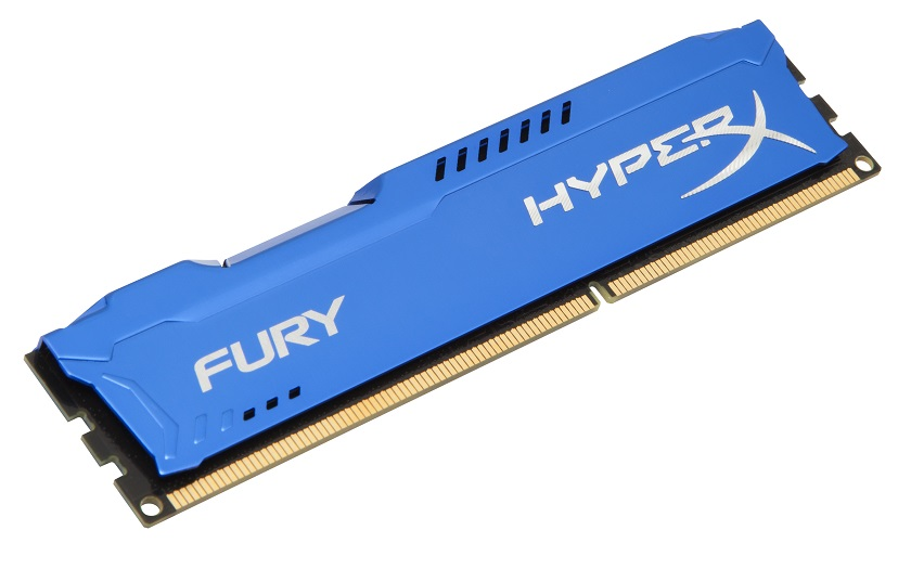 Kingston Hyper X 8GB Fury Series 1600MHz DDR3 Non-ECC CL10 Memory