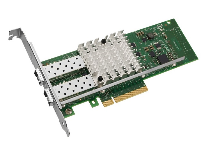 Intel X520-DA2 10Gigabit PCI Express x8 Low Profile & Full Height Converged Network Adapter