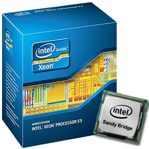 Intel E3-1235 Xeon 4C 3.20Ghz Quad Core 8M LGA1155 CPU