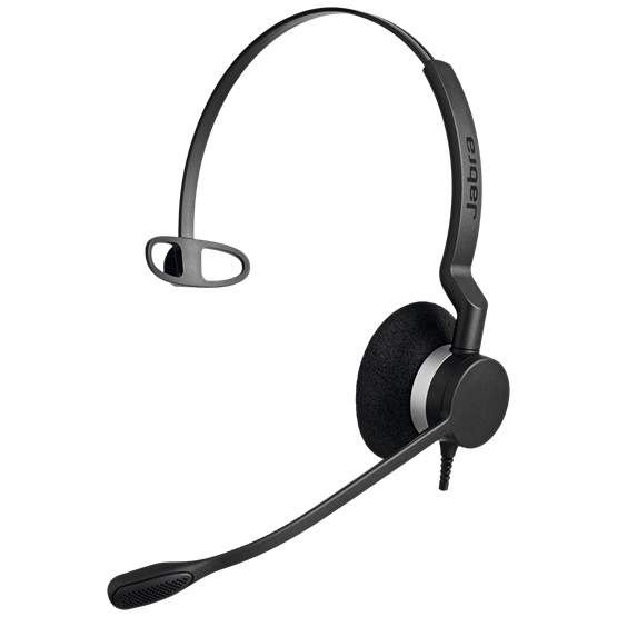 Jabra Biz 2300 UC MS Mono USB Headset - Optimised for Microsoft Skype for Business