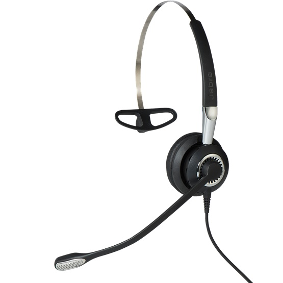 Jabra Biz 2400 II Mono USB Contact Centre Headset - Optimised for Microsoft Skype for Business