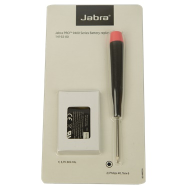 Jabra Pro 9400 Series Replacement Battery Kit
