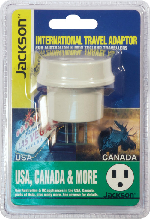 Jackson Outbound International Travel Adaptor for USA & Japan