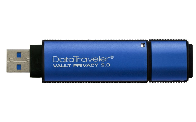 Kingston DataTraveler Vault 8GB USB 3.0 Flash Drive