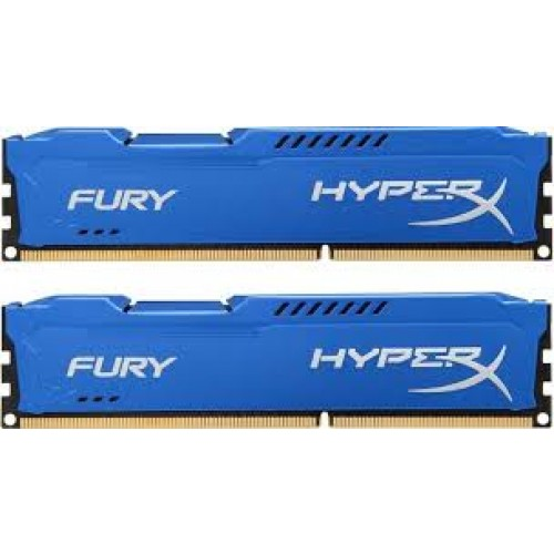 Kingston Hyper X Fury Series 16GB (2 X 8GB) 1600MHz DDR3 Non-ECC CL10 Memory
