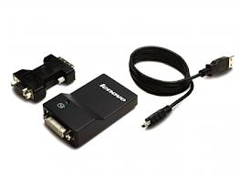 Lenovo ThinkCentre 0B47072 USB 3.0 to DVI/VGA Monitor Adapter