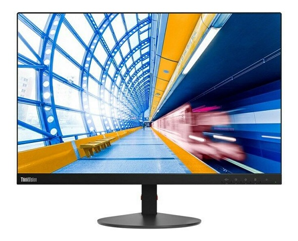Lenovo ThinkVision S23d-10 22.5 Inch 1920 x 1200 14 ms 250nit IPS Backlit LCD Monitor - DVI VGA