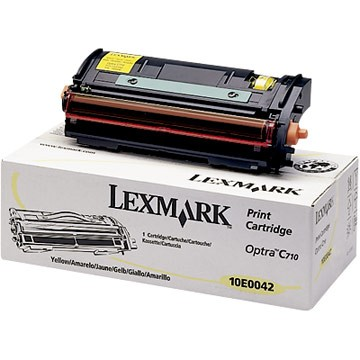 Lexmark 10E0042 Yellow Toner Cartridge