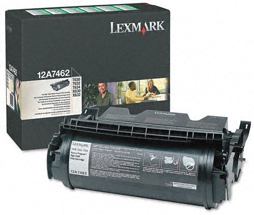 Lexmark 12A7462 Black Toner Cartridge