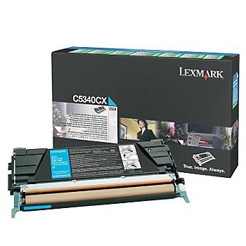 Lexmark C5340CX Cyan Toner Cartridge