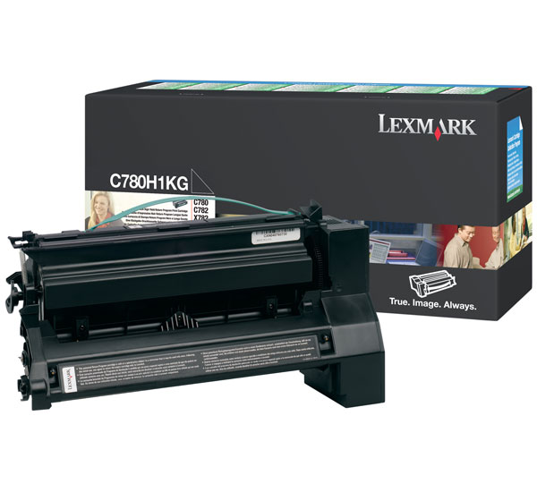 Lexmark C780H1KG Black Toner Cartridge