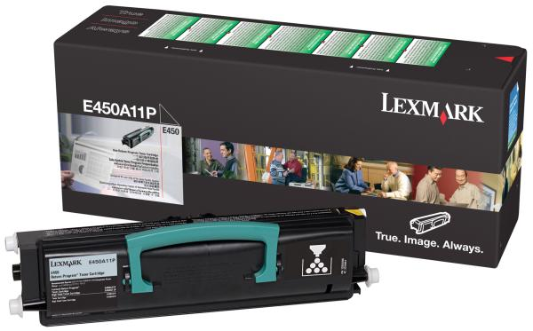 Lexmark E450A11P Black Toner Cartridge