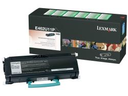 Lexmark E462U11P Black Return Program Toner Cartridge